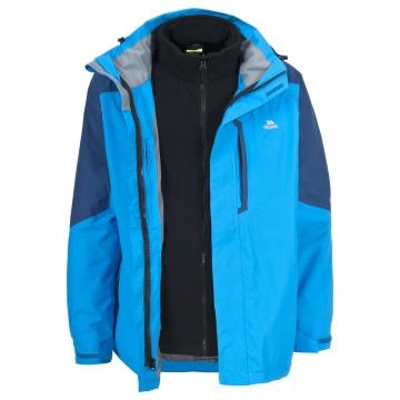 Likvidace skladu! Pánská outdoorová bunda 3 v 1 Trespass Maker / TP75 (2000mm / 3000mvp) Black XL
