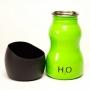 H2O4K9 Fľaša na vodu pre psa 0.3l - Zelený
