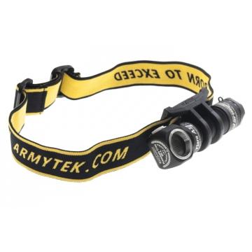 Čelovka Armytek Tiara A1 v2 XM-L2 / Studená biela / 600lm (50min) / 86m / 6 režimov / IP68 / 14500 Li-Ion / 48gr