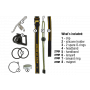 Čelovka Armytek Tiara C1 Pro v2 XP-L  / Teplá biela / 744lm (40min) / 93m / 10 režimov / IP68 / Li-ion 16340 / 56gr