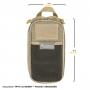 Organizér Maxpedition Skinny (PT1312) / 20x10 cm Wolf Gray