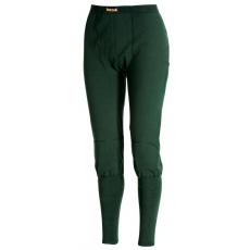 Dlouhé spodky bez poklopec těžké Green M, XL