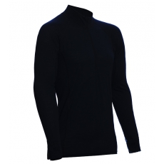ZIP Polo-krční triko TERMO Original (vlna, lehké) Black L, M, XXL