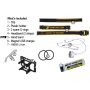 Čelovka Armytek Wizard v3 XP-L USB Magnet/ Teplá biela / 1160lm (1.5h) / 115m / 6 režimov / IP68 / Včetně 1 x Li-ion 18650 / 48gr