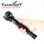 Svietidlo Tank007 TC60 U2 / Studená bíelá / 1000L (2h) / 500m / 4 režimov / IPX8 / 2x18650 Li-Ion / 347gr