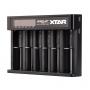 Nabíjačka USB XTAR QUEEN ANT MC6 pre 3.6 / 3.7 Li-ion / IMR / INR / ICR: 18650, 10440, 14500, 14650, 16340, 17335, 17500, 17670, 18350, 18490, 18500, 18700, 22650, 25500, 26650