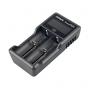 Nabíjačka USB XTAR VC2 Plus pre: 3.6 / 3.7 Li-ion / IMR / INR / ICR: 18650, 10440, 14500, 14650, 16340, 17335, 17500, 17670, 18350, 18490, 18500, 18700, 22650, 25500, 26650, 32650. Ni-MH / Ni-CD AAAA, AAA, AA, A, SC, C, D