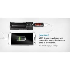USB merač napätia a prúdu XTAR VI01