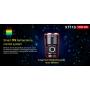 Svietidlo Klarus XT11S USB / Studená bíelá / 1100L (2h) / 330m / 6 režimov / IPX8 / vrátane 18650 Li-Ion / 115gr