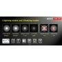 Svietidlo Klarus AR10 Magnet USB / Studená bíelá / 1080lm / 153mm / 6 režimov / IPX8 / 18650 Li-Ion / 93gr