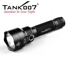 Svietidlo Tank007 PT12 / Studená bíelá / 800lm (1.5h) / 280m / 3 režimov / IPX8 / 18650