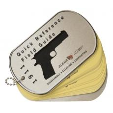 Průvodce k pistoli Real Avid 1911 FIELD GUIDE