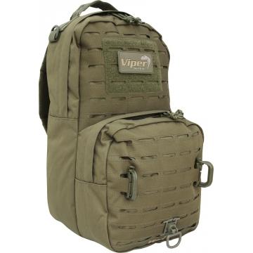 Batoh Viper Tactical Lazer 24 Hour / 22L / 19x20x43cm Green