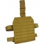Stehenní závěs Lazer Viper Tactical Lazer Dropleg Platform (VLMDLP) / 22x25x1cm Coyote