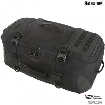 Cestovní batoh Maxpedition Ironstorm Adventure Travel Bag (RSM) AGR / 62L / 38x28x66 cm Black