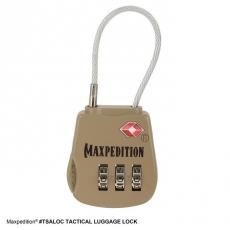 Zámek s kombinací Maxpedition Tactical Luggage Lock (TSALOCK)
