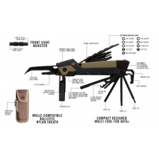 Multifunkční nářadí pro AR15 Real Avid GUN TOOL PRO-AR15