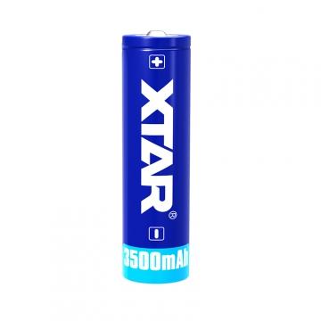 XTAR 18650 3500mAh 10A Dobíjacie, chránené batérie