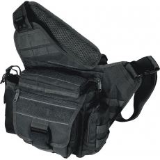 Brašna PVC-P218 UTG-Leapers Multi-functional Tactical Messenger Bag / 26x14x32cm Black