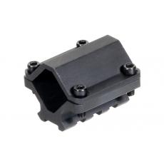 Montáž na hlaveň MNT-BR003XLS UTG-Leapers 19-28mm / 1-rail / 3-sloty