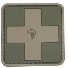 Nášivka na suchý zip Viper Tactical Medic Green / 5x5cm