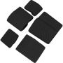 Elastická spona Viper Tactical Buckle Tidy Set Black