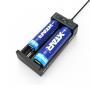 Nabíjačka USB XTAR MC2 Plus pro 3.6 / 3.7 Li-ion / IMR / INR / ICR: 18650, 10440, 14500, 14650, 16340, 17335, 17500, 17670, 18350, 18490, 18500, 18700, 20700, 21700