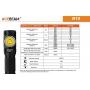 Čelovka Acebeam H15 / 6500K / 2500lm (1.9h) / 135m / 7 režimů / IPx8 / Včetně Li-ion 18650 / 50gr