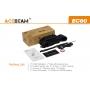 Svietidlo Acebeam EC60 USB  / Studená bielá / 2000lm (1.5h) / 603m / 6 režimů / IPx8 / Včetně Li-Ion 26650 / 132gr