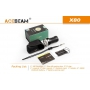 Svítidlo Acebeam X80  / Bielá+RGB+UV / 25000lm (1m+1.3h) / 332m / 11 režimov / IPx8 / Včetně Li-Ion 4*18650 / 330gr