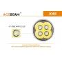 Svítidlo Acebeam X45 XHP70.2 VERSION / 6500K / 18000lm (3m+1.1h) / 622m / 7 režimů / IPx8 / Včetně Li-Ion 4*18650 / 535gr