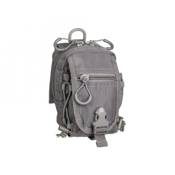 Pouzdro MilTec HEXTAC Belt Pouch (134850) / 10x10x15 cm Grey