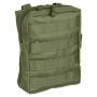 Pouzdro MilTec MOLLE Belt Pouch Large / 19x7x23cm Green