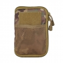 Pouzdro MilTec MOLLE Belt Office / 11x17x1.5cm Multitarn