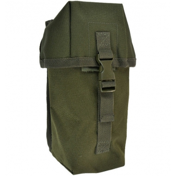 Pouzdro MilTec Small Multi purpose Belt Pouch / 10x8x21cm Green