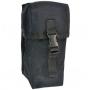 Pouzdro MilTec Small Multi purpose Belt Pouch / 10x8x21cm Black