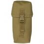Pouzdro MilTec Small Multi purpose Belt Pouch / 10x8x21cm Coyote