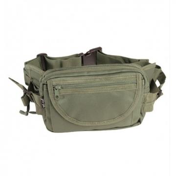 Ledvinka MilTec Hip Bag Large / 23x15x8cm Green