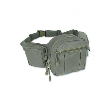 Ledvinka MilTec Tactical Fanny Pack / 40x15x8cm Green
