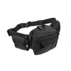 Ledvinka MilTec Tactical Fanny Pack / 40x15x8cm Black