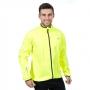 Likvidace skladu! Pánská nepromokavá cyclistická bunda Trespass Grafted / TP75 (3000mm / 3000mvp) Hi Vis Yellow XL