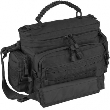 Taška MilTec Tactical Paracord Bag Small / 7L / 40x16x24cm Black