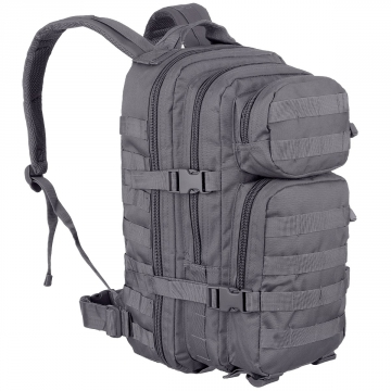 Batoh MilTec US Assault S / 20L / 42x20x25cm Grey