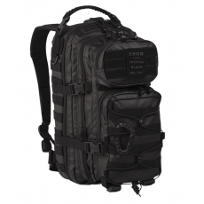 Batoh MilTec Tactical Black US Assault S / 20L / 42x20x25cm Black