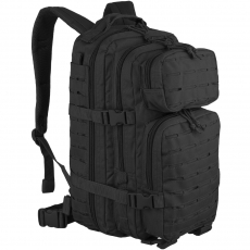 Batoh MilTec US Laser Cut Assault S / 20L / 42x20x25cm Black