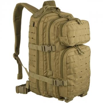 Batoh MilTec US Laser Cut Assault S / 20L / 42x20x25cm Coyote