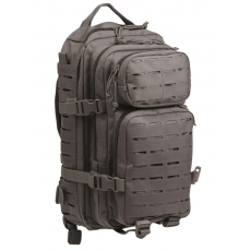 Batoh MilTec US Laser Cut Assault S / 20L / 42x20x25cm Grey