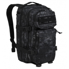 Batoh MilTec US Laser Cut Assault S / 20L / 42x20x25cm Mandra Night