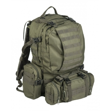 Batoh MilTec Defence Pack Assembly / 36L Mandra Wood