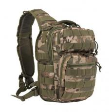 Batoh přes rameno MilTec Assault S / 10L / 30x22x13cm Multitarn